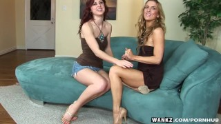 WANKZ- Karlie And Mia Lez Out