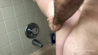 Submissive ass girl her gets the tight in little painal shower fucked masturbate thin