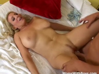 Big Tit Mature Having Fun With Young Cock