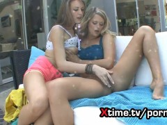 female depravity - lesbian sex between teens after school