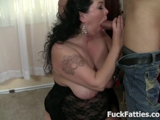 Beautiful Fat Babe Loves Fucking Big Cock