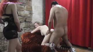 Ready a martina getting for cock behind blonde