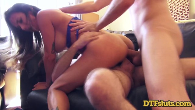 Brazilian ass whores dp style Big tit latina slut wife nadia styles homemade dp squirting anal threesome