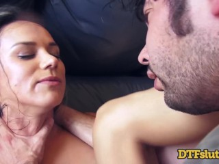 Big Tit Latina Slut Wife Nadia Styles Homemade DP Squirting Anal Threesome