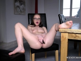 She fucks her hard wendymoonx - wendy moon use dildo to make her self cum multiple times b