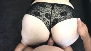 操我性感的黑色内裤和我的阴部暨我
