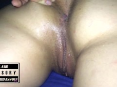 Sabrinna Showing her Body Wanking Me, Getting Fucked and jizzed on her Ass