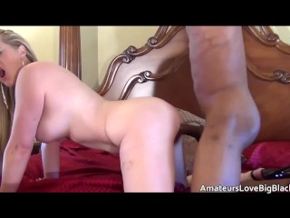 Pussy Young Women Fucking, Hot blonde MILF tastes and feels the power of big black cock