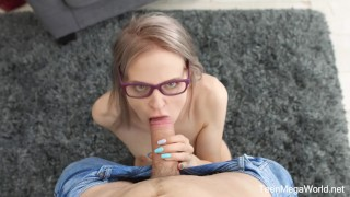 TeenMegaWorld.net Herda Wisky The Random Sex Encounter with a Nerdy Blond