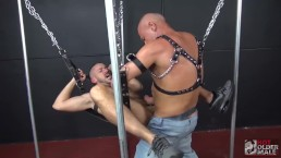 Silver Daddy Max Stark Gives Owen Powers his Raw Cock and Daddy Load