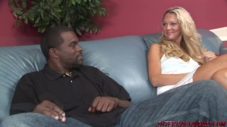 Streets black for slut blonde goes heidi on the cock interracial mother