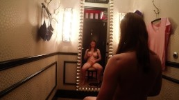 Big Tit Luna Liliae Masturbating In Changing Room