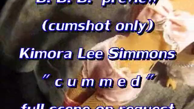 Kimora lee simmons tits - Bbb preview: kimora lee simmons cummed cumshot only