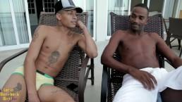 Italo & Kaua Adriano Raw Freak Beatdown - Latin Bareback Boys