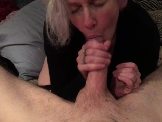 Daddy's Lil Cum Starved Princess Sucks His Cock Dry With A Perfect Blowjob