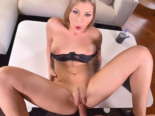 POV Fuck Gorgeous Serbian Secretary Haley Hill in Virtual Reality