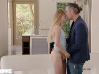 Preview 3 of VIXEN Southern Teen Fucks Dads Friend For Favour