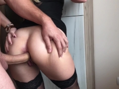 Blonde Teen gets Crazy for Extreme Deep ANAL, GAPE and CREAM