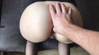 Preview 1 of Blonde Teen gets Crazy for Extreme Deep ANAL, GAPE and CREAM