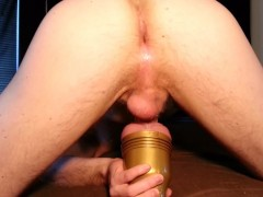 Loud Orgasm Cumming Hard In My Fleshlight