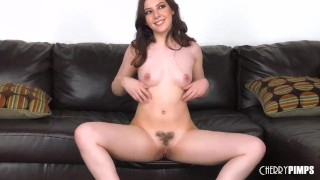 And up every cum licking of loves she hard gets drop fucked big brunette