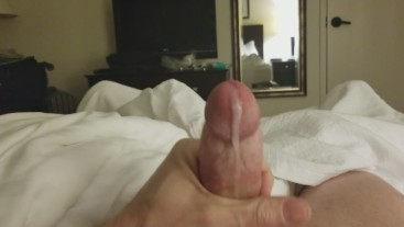 Quick Hotel Jerk Off Cumshot 60fps