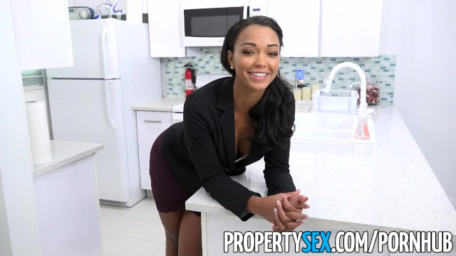 Blonde Real Estate Agent Pov