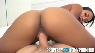 PropertySex - Hot property manager fucks pissed off tenant Vibrator lesbian