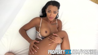 PropertySex - Hot property manager fucks pissed off tenant Bubble twerking