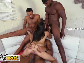 Bangbros 3 Big Dick Brothas Gangbang Petite Latina Michelle Martinez