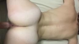 Sexy Brunette Girlfriend fucked Doggystyle Until Orgasm and Cumshot