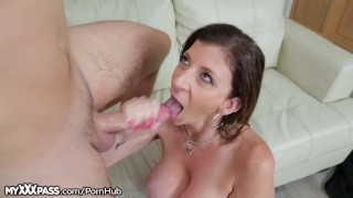 Daughters boytoy out titty big blow cougar to starved big mother