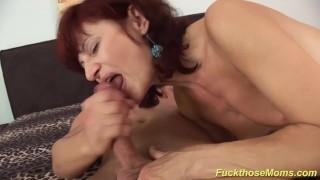 skinny mom deepthroat a strong dick porno