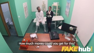 Fake Hospital Sexy Czech estate agent loves sucking and fucking docs cock Babysitter lifeselector