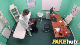 Fake Hospital Sexy Czech estate agent loves sucking and fucking docs cock porno