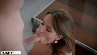 Preview 6 of TUSHY Sexy French Girl Loves Anal