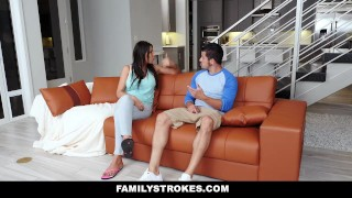 FamilyStrokes - Making My Hot StepCousin Squirt Bobbers view