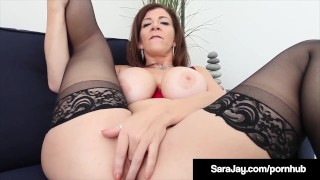 Big Booty Professor Ms. Sara Jay Makes Student Lose His Load