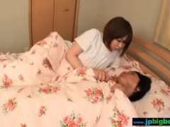Japanese mom and son having sex real