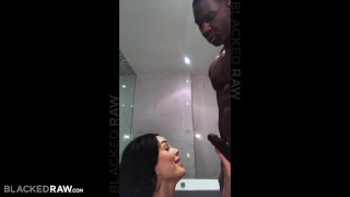 BLACKEDRAW His red head Girlfriend cheated with bbc Sitting on