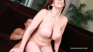 800DAD - Big Tit Milf Sara Jay Slammed by Gigolo Cock Cumshot panties