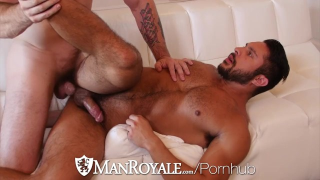 Vikram seth gay - Manroyale muscle hunks seth santoro and trenton ducati fuck
