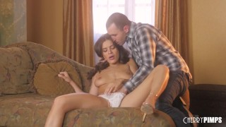 Lana Rhoades and James Deen Get Hot and Passionate Music timer