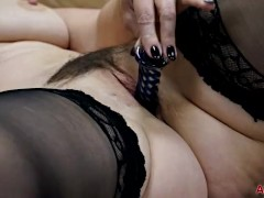 Sexy MILF Raven in Stockings on AllOver30