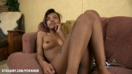 Yvette gives a nude interview