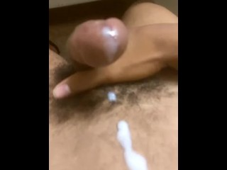 Jacking long dick, and nuts