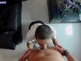 Preview 1 of Hard and deep anal fucking - dirty Christmas present POV