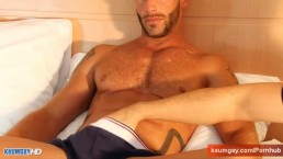 Eric handsome innocent delivery guy in a gay porn.