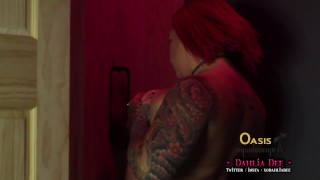 Dahlia Dee's Stranger Gloryhole Fuck and Suck  big cock bbw redhead blowjob gloryhole fucking chubby stranger big dick butt tattooed alt girl doggystyle big boobs glory hole huge ass