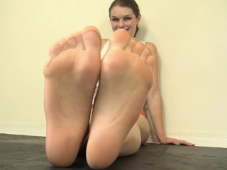 Anastasia Rose Hooters Girl Pantyhose FootJob Preview